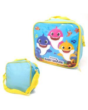 Baby Shark Lunch Bag with side pocket and shoulder strap___TM1225HV-9295