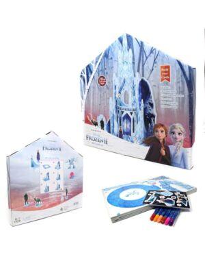 Frozen 3D Castle set in Colour window Box___TM3474-5965
