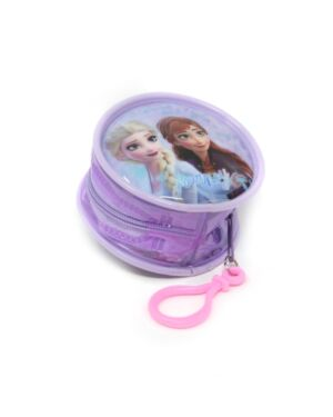 Zipped Round Coin Purse with key FOB Frozen___TM1564-9179