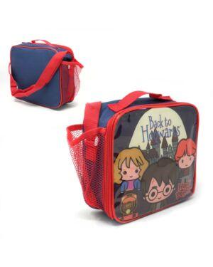 Lunch bag Harry Potter with mesh side pocket and shoulder strap TM0014