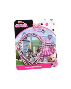 Minnie 4pcs Hair Bands & 4pcs hair clips___TM2419-8173