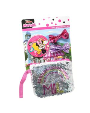 Sequin Purse hair accessories set Minnie PL1152
