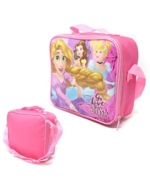 Princess Lunch Bag with side pocket and shoulder strap ___TM1225HV-8542T