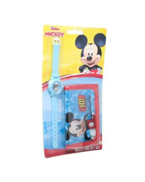 Watch Wallet set on Blister Mickey PL1561