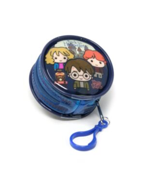 Zipped Round Coin Purse with key FOB Harry Potter___TM1564-9400
