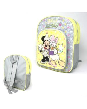 Deluxe Backpack with front & Side Pocket Minnie___TM10297-9596