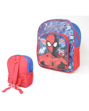 Deluxe Backpack with front & Side Pocket Spiderman___TM10297-9593