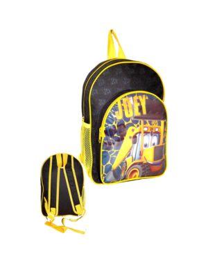 Deluxe Backpack with front & Side Pocket Joey JCB___TMJCB KD - 09 9382
