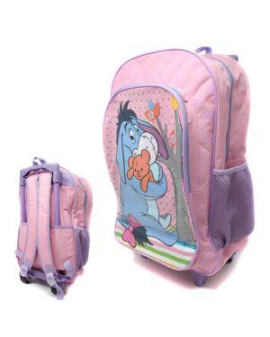 Deluxe Large Trolley Backpack with foldable trolley mechanism  WINNIE EEYORE ___TM 1019HV-9260