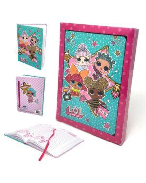 Glitter Diary in Gift Box___TM47100E-8280