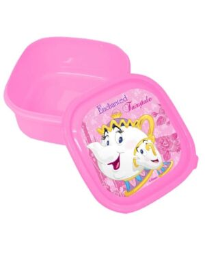Snack/Sandwich Box Princess Beauty & Beast___TM4407-8354