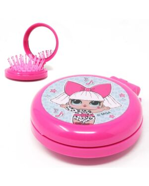LOL Compact Hair brush with Mirror___TM2414-8280