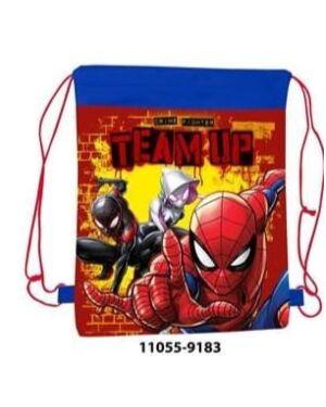 Pull String Shoe Bag Spiderman PL964