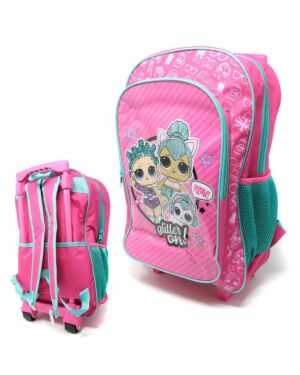 Deluxe Large Trolley Backpack with foldable trolley mechanism  LOL___TM1019HV-9112