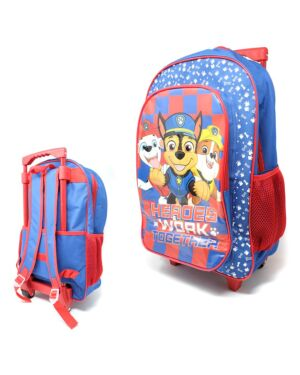 Paw Patrol Kids Trolley Cabin Bag Suitcase with Wheels and Telescopic Handle PL0255