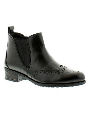 Ladies Shoe A0333BLKPA CHELSEA 3X8-123321=12 BLACK LEATHER JBI0135