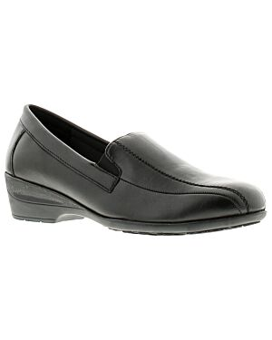 Ladies Shoe A0335BLKPA ERICA 4x8-23421=12 BLACK LEATHER  JBI0102