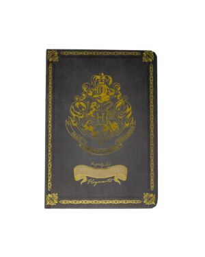 Harry Potter A5 Casebound Notebook Black - Crest & Customise BSS-SLHP513