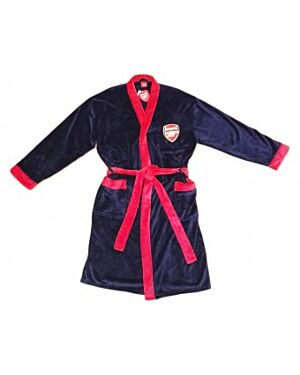ARSENAL FC MENS DRESSING GOWN NAVY - TD8112