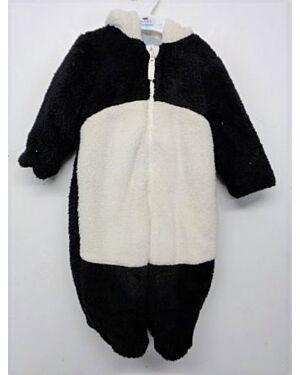 Babies Exchainstore Panda Fluffy Snowsuit QA1006
