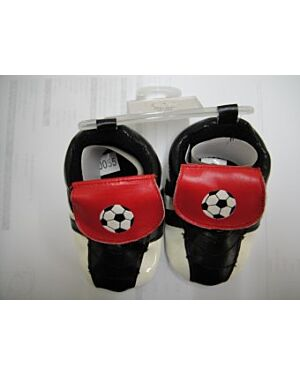 Baby Boy Football Booties - TD4820