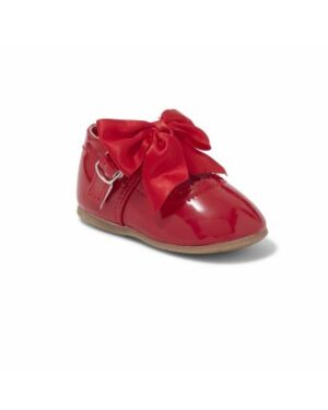 BABY GIRL SMART SHOES WITH A BOW QA1022