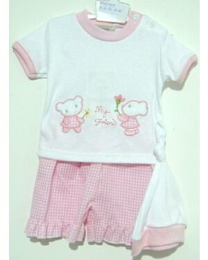 Baby Girls Gingham check shorts - MJ5587