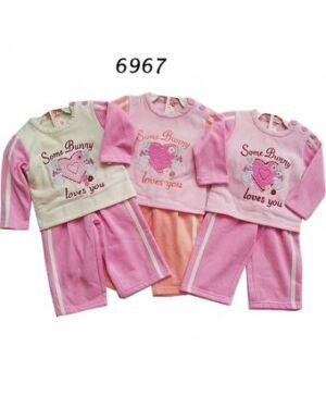 BABY GIRLS PRINTED 2PCS SET MJ4650