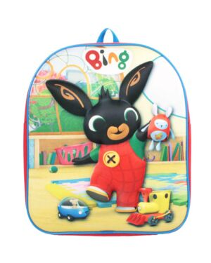 Cbeebies Bing Backpack With Raised 3D Design NEW
