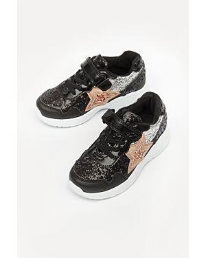 Buckle My Shoe Carne star trainer black 8X2 23332221 WL-GTI23576AA