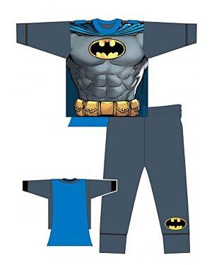 BOYS DC BATMAN CLASSIC NOVELTY FITTED PYJAMAS MJ5825
