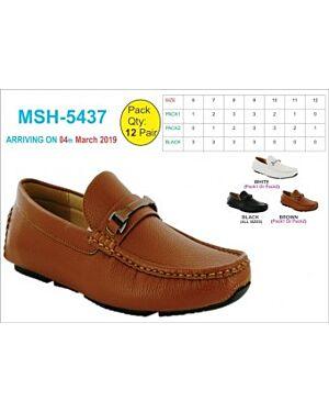 Mens Formal Leather School Shoes QA2370