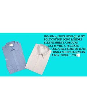 Wholesale Wholesale Shirt Boys School SH129