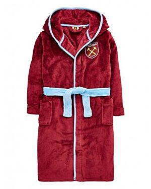 BOYS WEST HAM DRESSING GOWNS - QA854