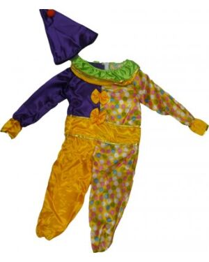 Childrens Dress Up Clown Costume Outfit TD4634