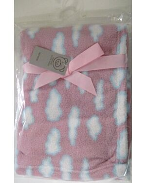 Coral Fleece Wrap with a design MJ5590
