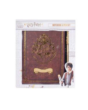 Harry Potter Notebook & Pen Set - Crest & Customise BSS-SLHP536