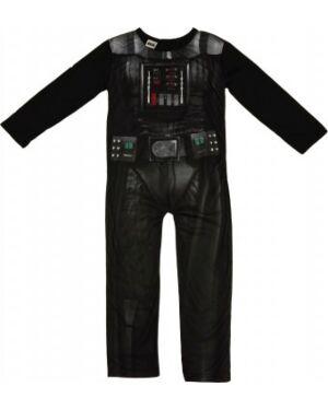 Kids Black Darth Vader Dress Up Fancy Dress Up Costume - TD6279