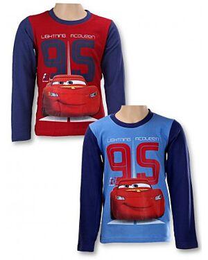 Disney Pixar Cars Boys' Long Sleeve T-Shirt TD8197