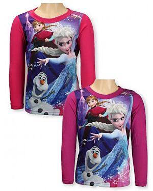 Girls Disney Frozen Long Sleeve Top TD8199