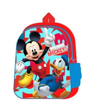 DISNEY MICKEY MOUSE BACKPACK WITH MESH SIDE POCKET - QA2483 WH