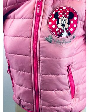 Disney Minnie Mouse Girls Licence Jacket QA086
