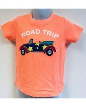 EX CHAIN STORE BABY ROAD TRIP PRINTED TOP - QA2460