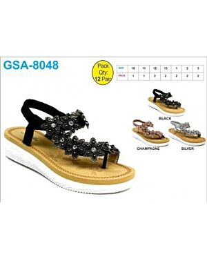 GIRL FASHIONABLE PARTY SANDAL QA2526