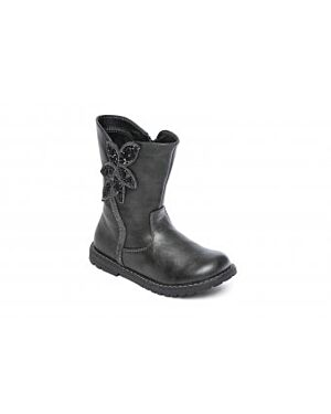 Girls Ashley Black fashion boots Buy