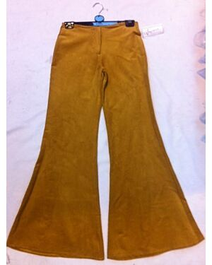 Girls Corduroy Flare Trousers with Lips - TD10119