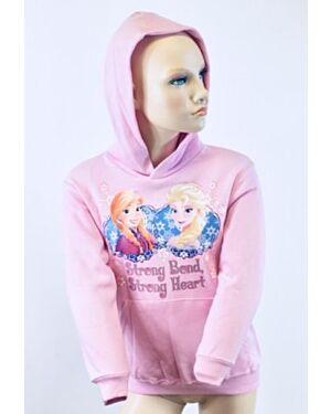 Girls Disney Frozen Heavy Fleece Hoodie Top TD10535