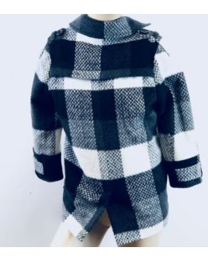 GIRLS EXCHAINSTORE FASHIONABLE SMART WINTER COAT WITH COLLAR QA792