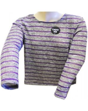 GIRLS EX CHAINSTORE LONG SLEEVE TOP TD10250
