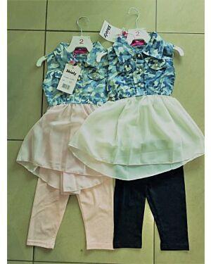 Kids Girls Love Printed Trendy Top & Fashion Legging Set New Age TD9137
